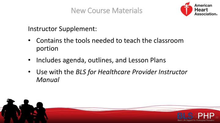 New Course Materials