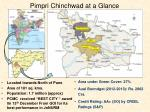 pimpri chinchwad at a glance