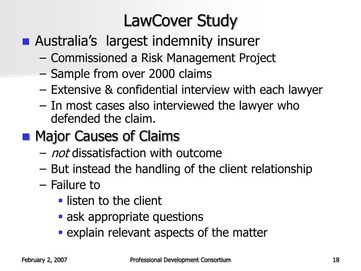 LawCover Study