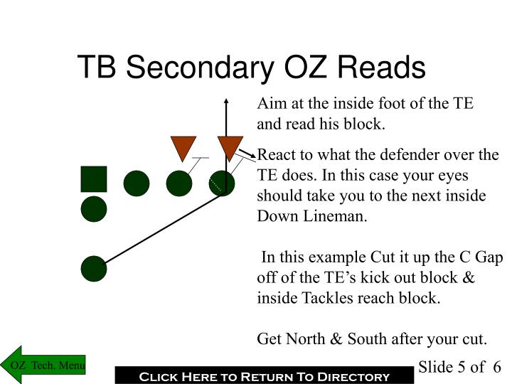 TB Secondary OZ Reads