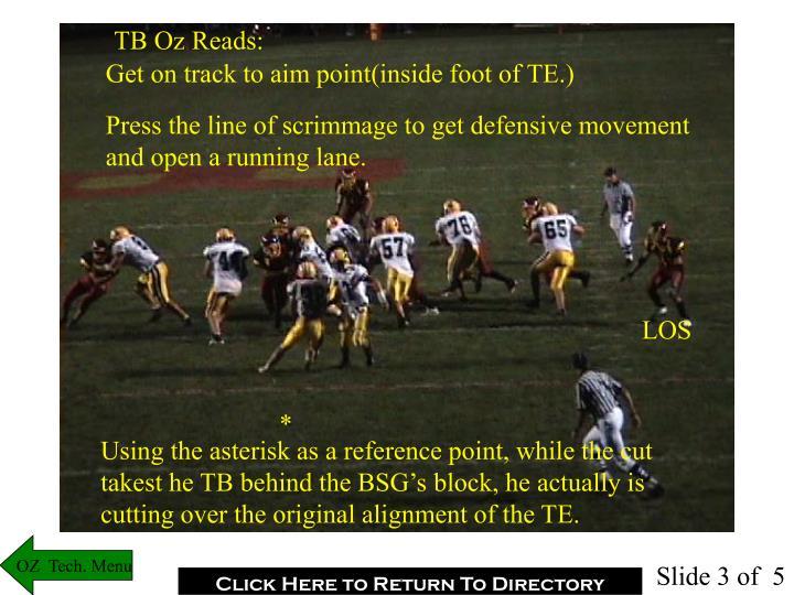 TB Oz Reads: