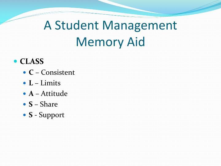 A Student Management
