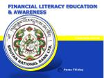 financial literacy education awareness