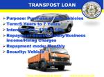 transpost loan