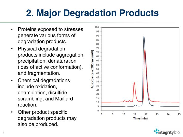 2. Major Degradation Products