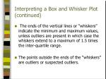 interpreting a box and whisker plot continued1