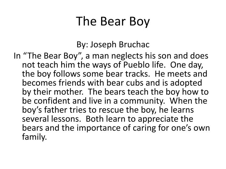 The Bear Boy