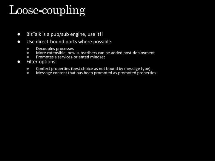 Loose-coupling