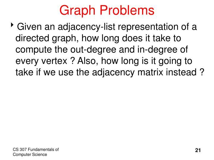 Graph Problems
