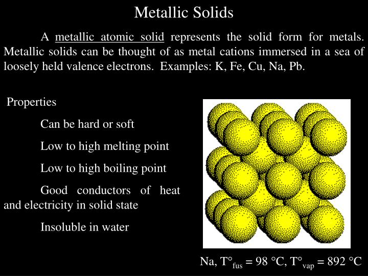 Metallic Solids