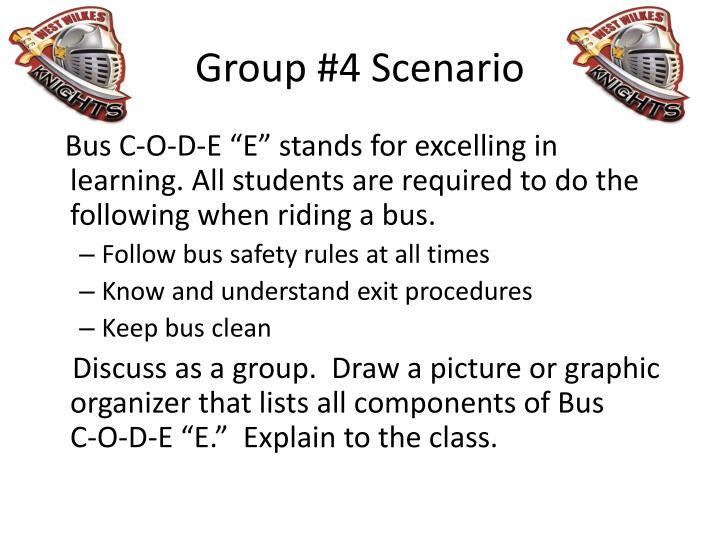 Group #4 Scenario