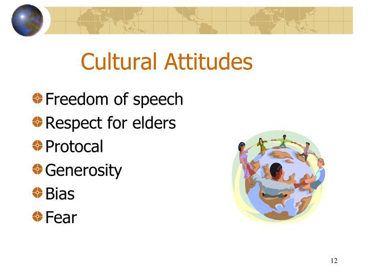 Cultural Attitudes