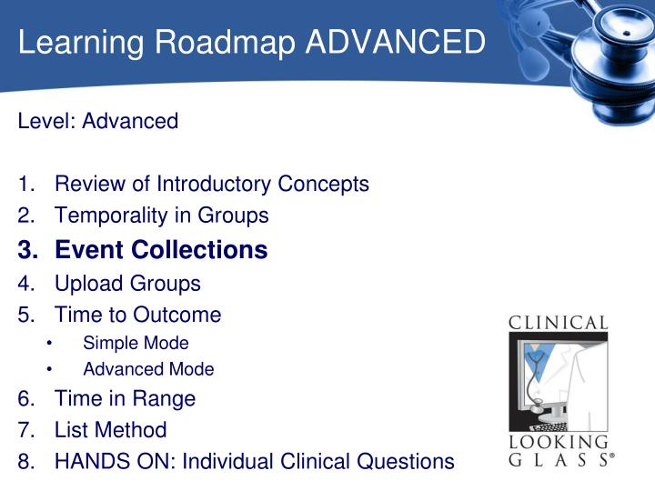 Learning Roadmap ADVANCED