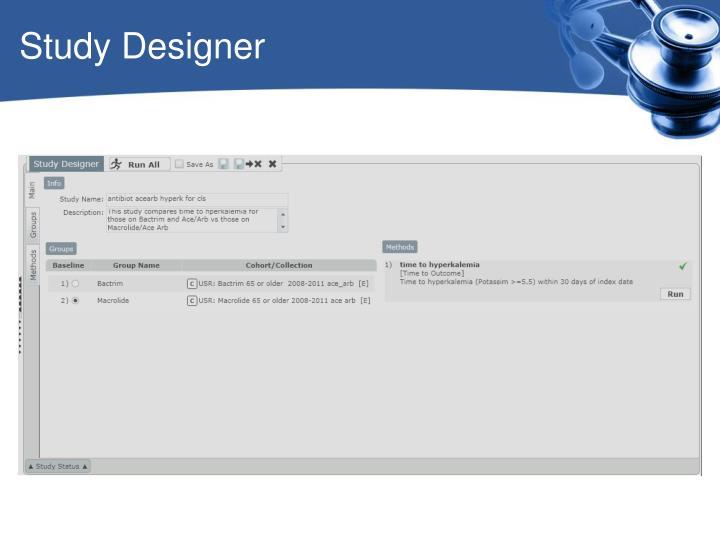 Study Designer