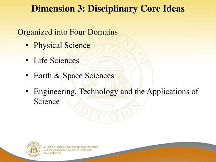 Dimension 3: