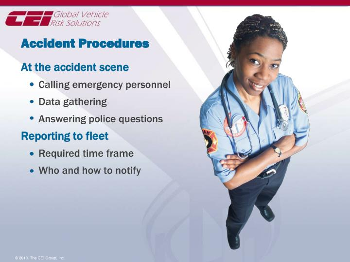 Accident Procedures