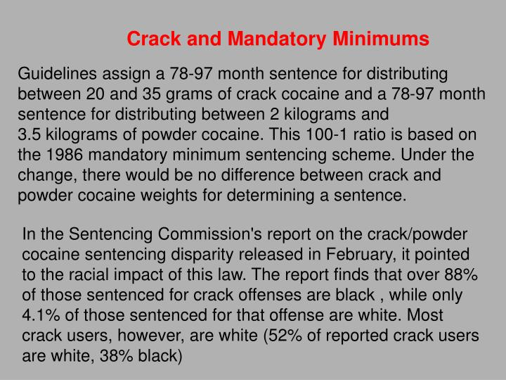 Crack and Mandatory Minimums