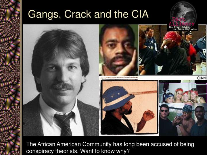 Gangs, Crack and the CIA