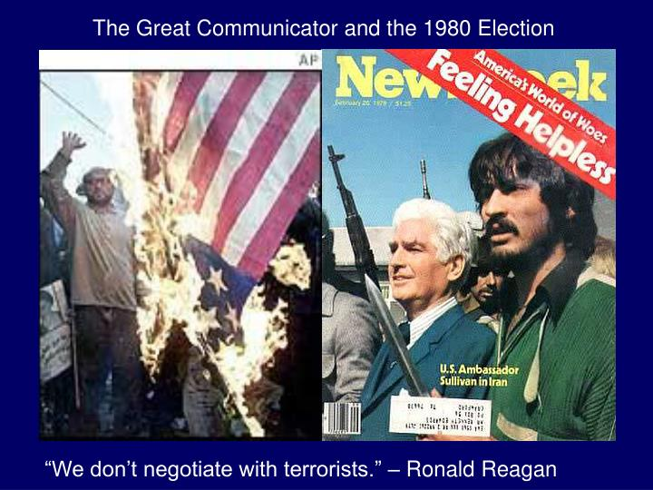 The Great Communicator and the 1980 Election
