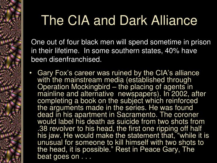 The CIA and Dark Alliance