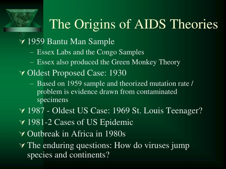 The Origins of AIDS Theories