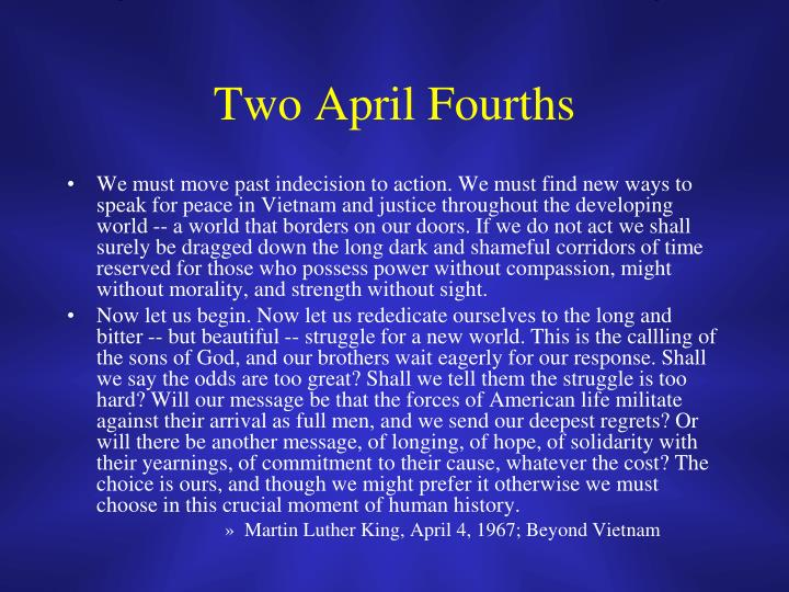 Two April Fourths