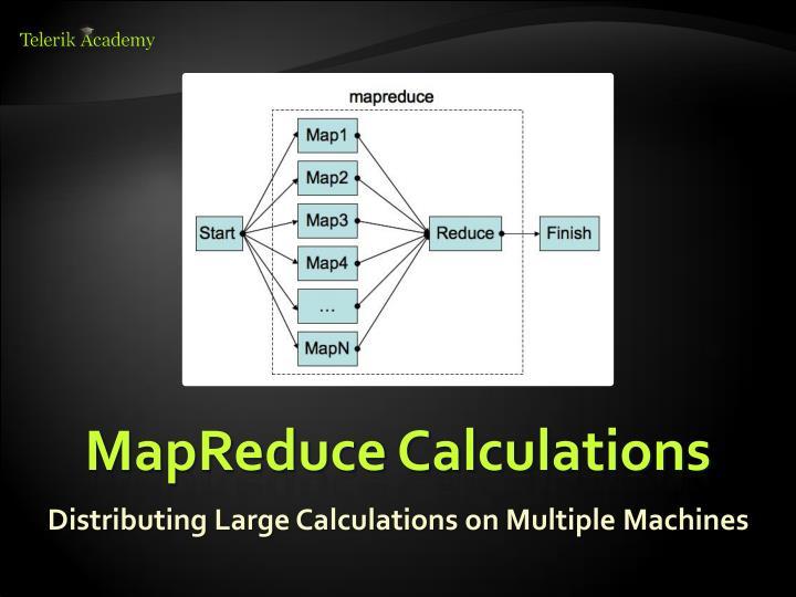 MapReduce Calculations