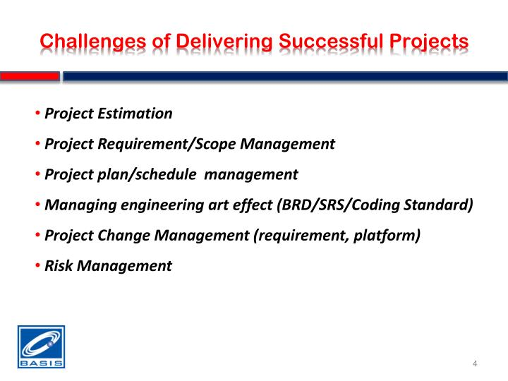Challenges of Delivering Successful Projects