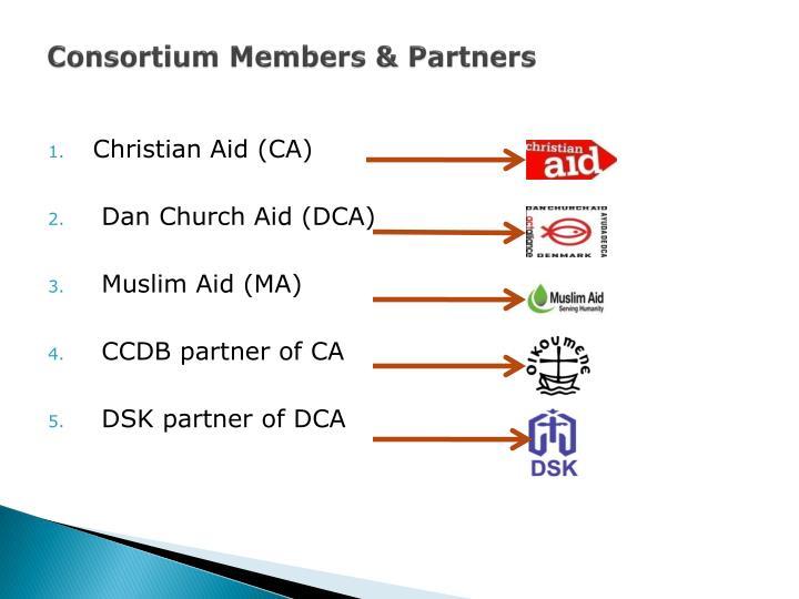 Consortium Members & Partners