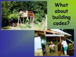 what about building codes