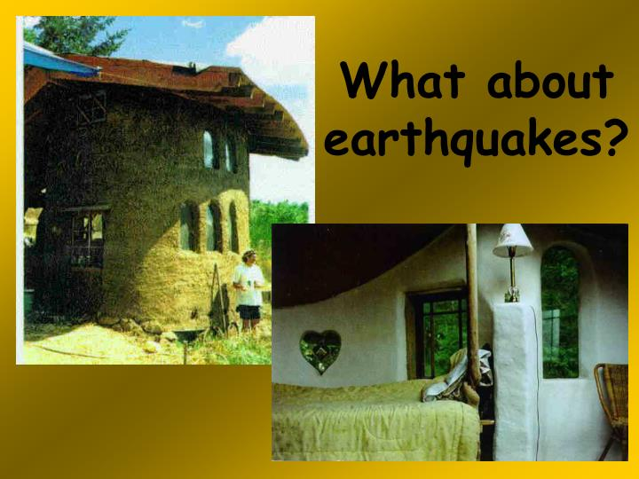 What about earthquakes?