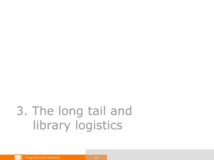 3. The long tail and