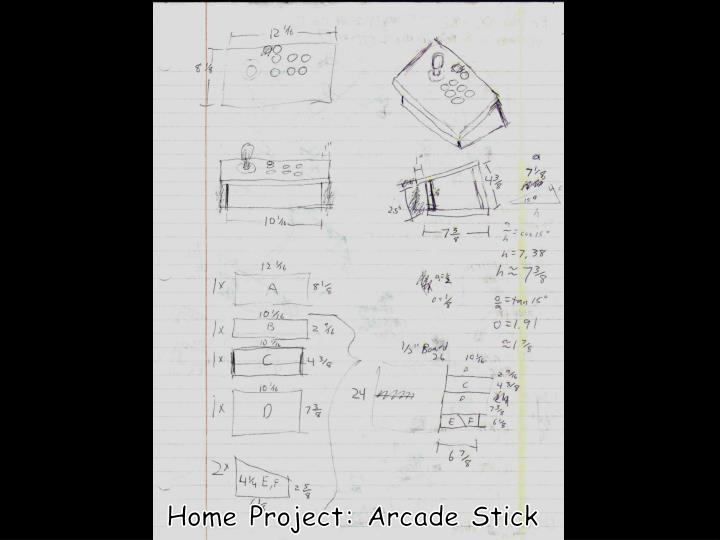 Home Project: Arcade Stick