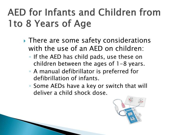 AED for Infants and Children from