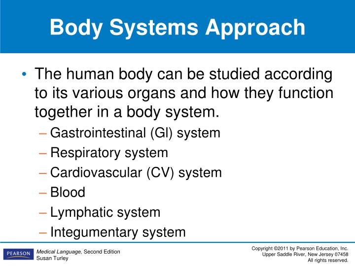 Body Systems Approach