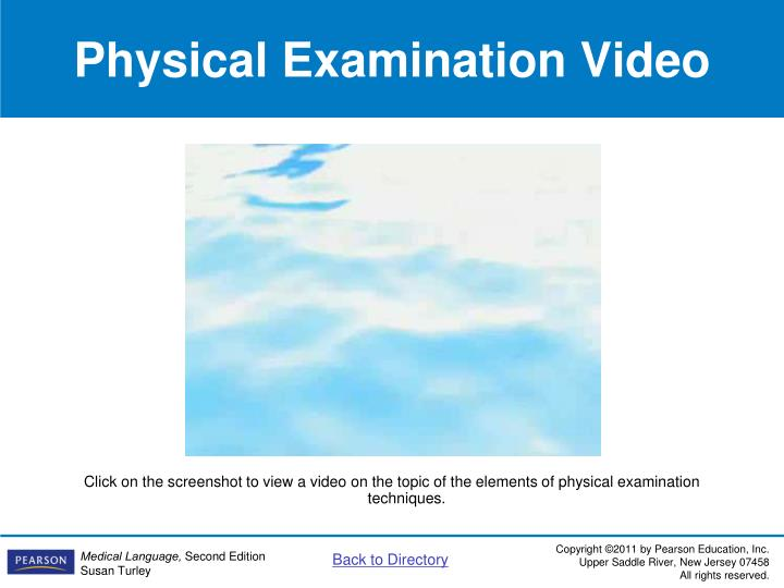 Physical Examination Video