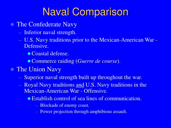 Naval Comparison