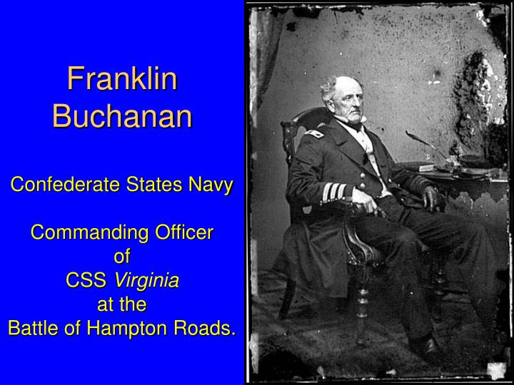 Franklin Buchanan