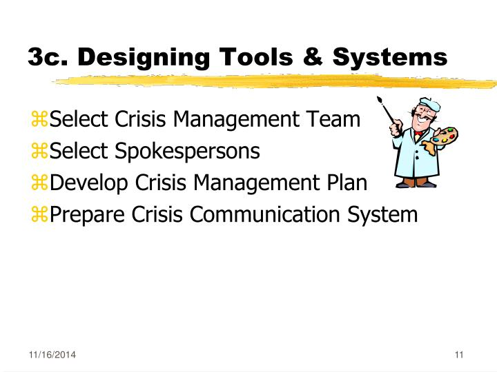 3c. Designing Tools & Systems