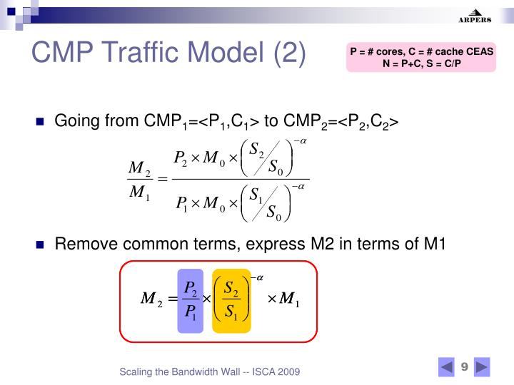 CMP Traffic Model (2)