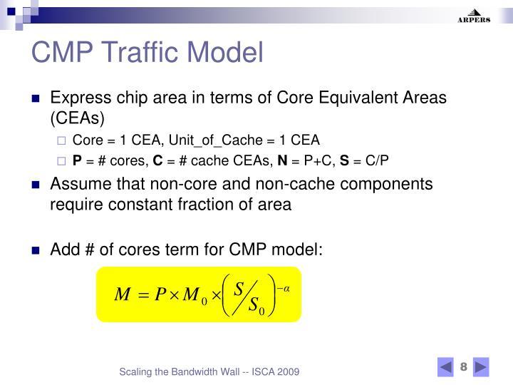 CMP Traffic Model