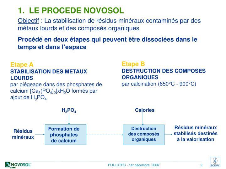 Destruction des composés organiques