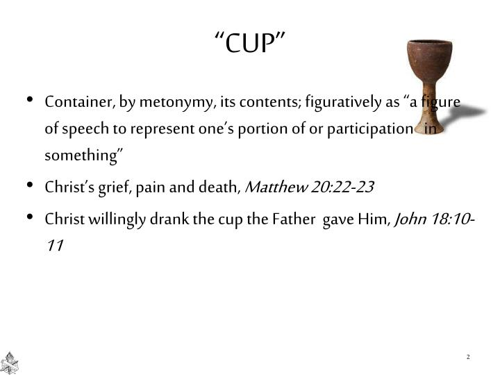 """""""CUP"""""""