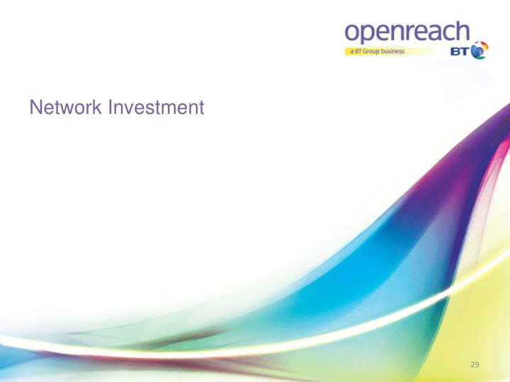 Network Investment