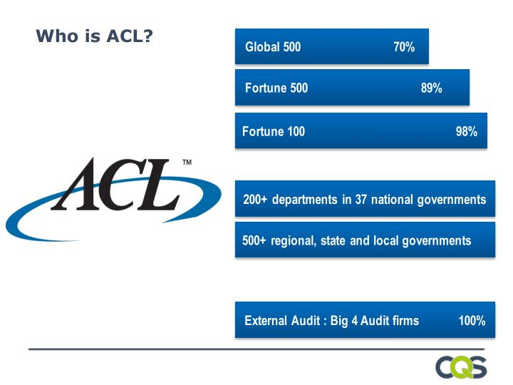 Who is ACL?