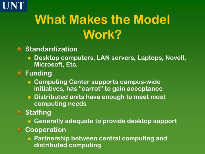 What Makes the Model Work?