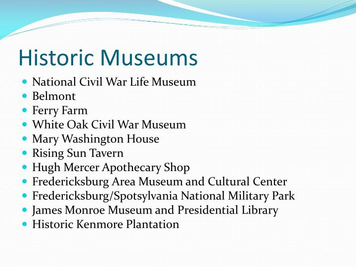 Historic Museums