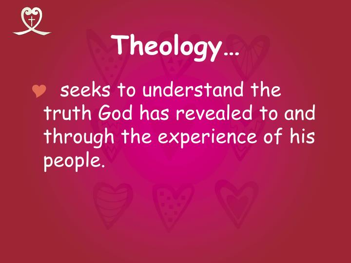 Theology…
