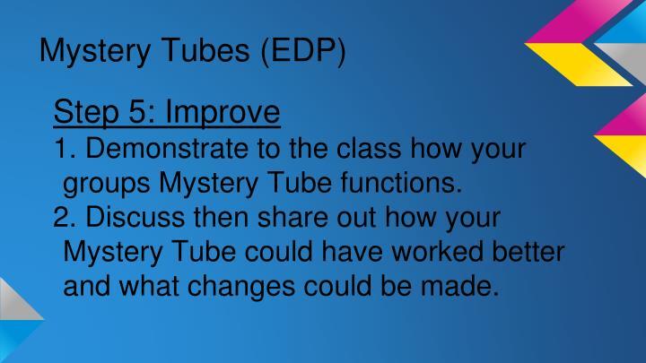 Mystery Tubes (EDP)