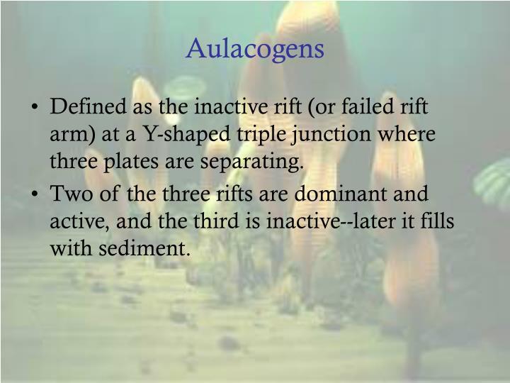 Aulacogens